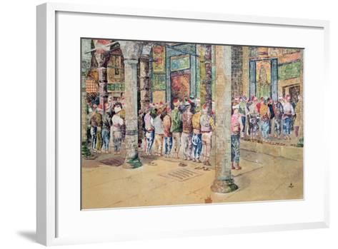 The Hour of Prayer--Framed Art Print
