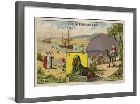 Suez--Framed Art Print