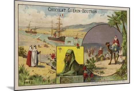 Suez--Mounted Giclee Print