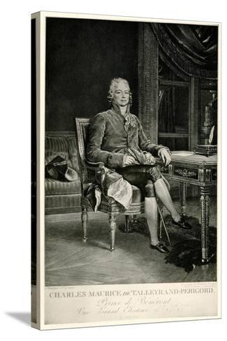 Charles Maurice Herzog Von Talleyrand-Périgord, 1884-90--Stretched Canvas Print