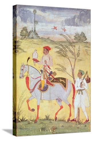 Emperor Jahangir (1569-1627)--Stretched Canvas Print