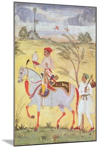 Emperor Jahangir (1569-1627)--Mounted Giclee Print