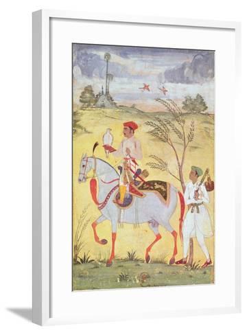 Emperor Jahangir (1569-1627)--Framed Art Print