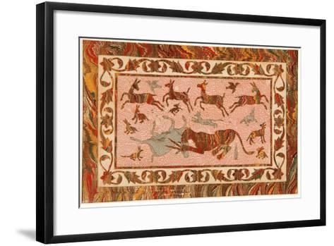 The Tiger's Prey, C.1650--Framed Art Print