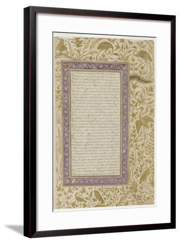Dictionary Page, C.1607--Framed Art Print