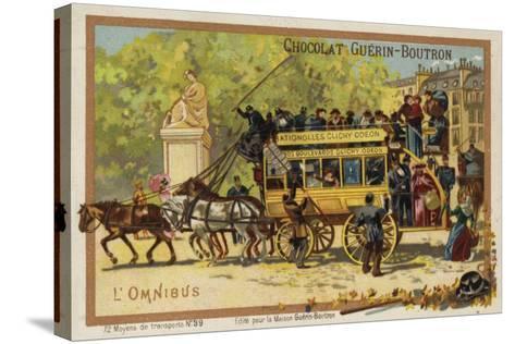 Omnibus--Stretched Canvas Print