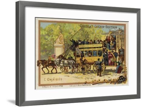Omnibus--Framed Art Print