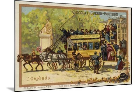 Omnibus--Mounted Giclee Print