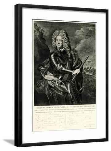 John Churchill, 1884-90--Framed Art Print
