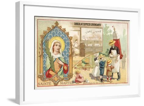 St Martha--Framed Art Print