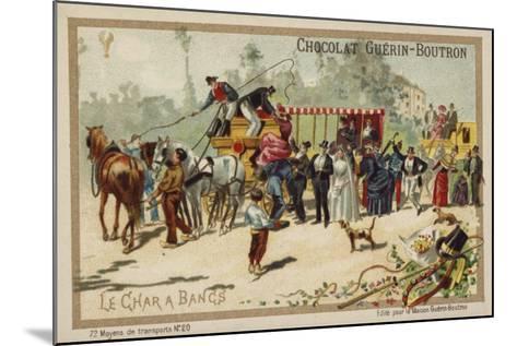 Charabanc--Mounted Giclee Print