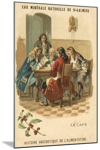 Coffee--Mounted Giclee Print