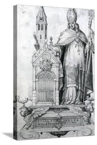 Saint Wolfgang of Regensburg (C.934- 994)--Stretched Canvas Print