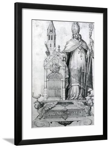 Saint Wolfgang of Regensburg (C.934- 994)--Framed Art Print
