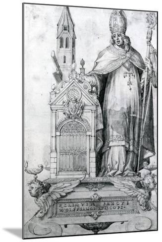 Saint Wolfgang of Regensburg (C.934- 994)--Mounted Giclee Print