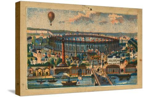 View of the Paris Exposition, 1867--Stretched Canvas Print
