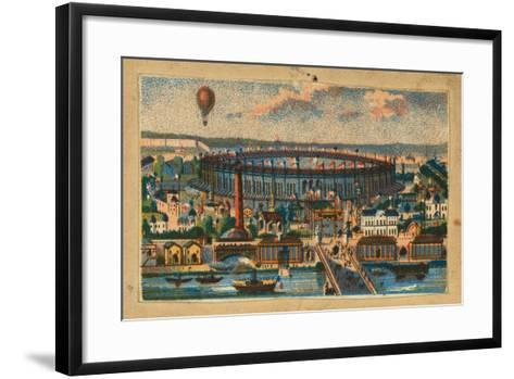 View of the Paris Exposition, 1867--Framed Art Print
