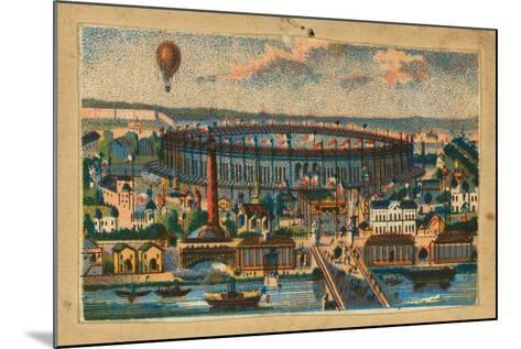 View of the Paris Exposition, 1867--Mounted Giclee Print