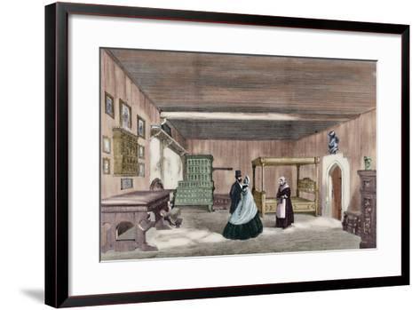 Martin Luther's Room in Wartburg Castle--Framed Art Print
