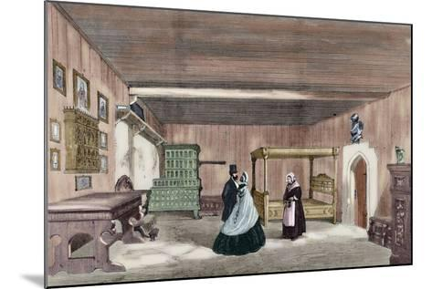 Martin Luther's Room in Wartburg Castle--Mounted Giclee Print