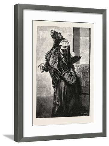 A Seller of Turkeys, Egypt, 1879--Framed Art Print