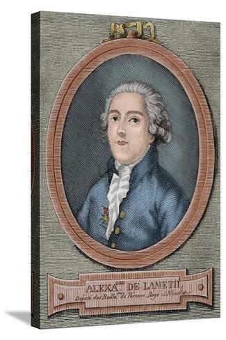 Alexandre De Lameth (1760-1829)--Stretched Canvas Print