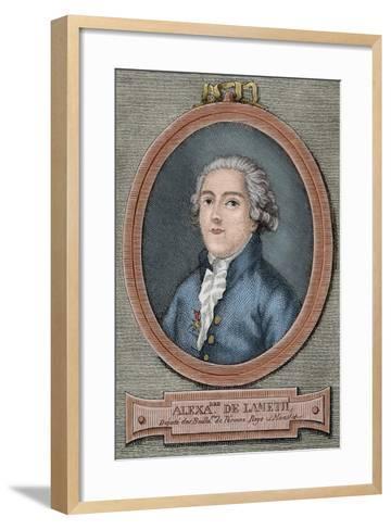 Alexandre De Lameth (1760-1829)--Framed Art Print
