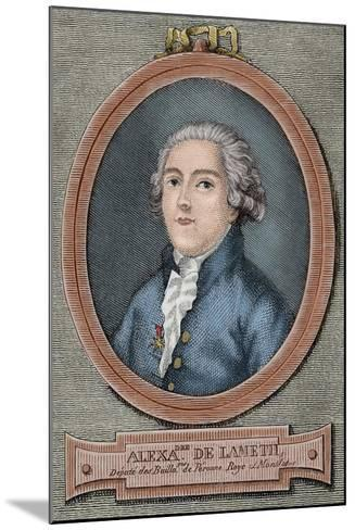 Alexandre De Lameth (1760-1829)--Mounted Giclee Print
