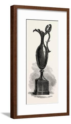 Black Marble Vase, 1851--Framed Art Print