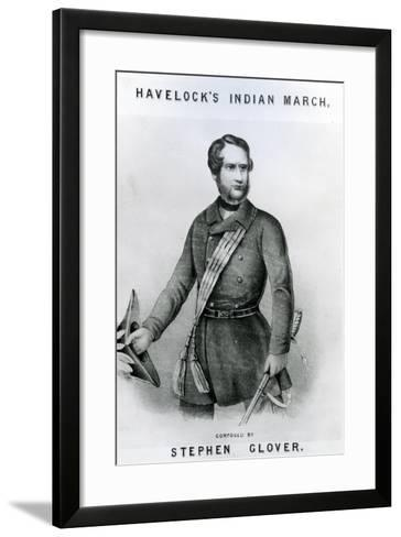Havelock's Indian March--Framed Art Print