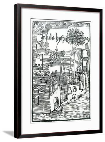 La Navidad under Construction--Framed Art Print