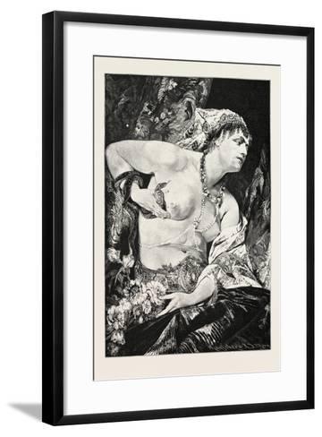 Cleopatra, Egypt, 1879--Framed Art Print