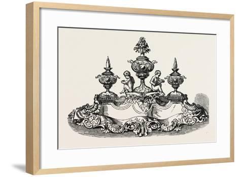 Silver Inkstand, 1851--Framed Art Print