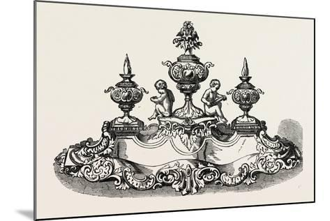 Silver Inkstand, 1851--Mounted Giclee Print