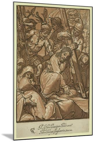 Christ Carrying the Cross, Andreani, Andrea, Approximately 1560-1623--Mounted Giclee Print