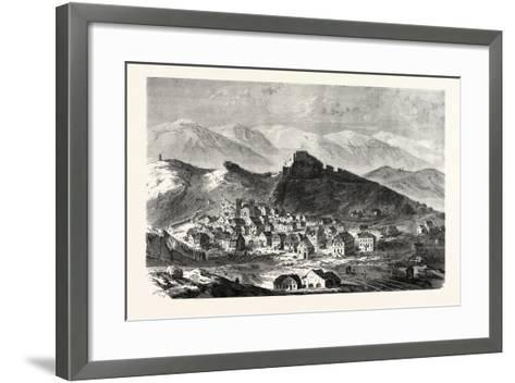 Franco-Prussian War: the City and the Fortress of Belfort, February 18--Framed Art Print