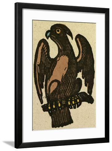 Illustration of English Tales Folk Tales and Ballads, a Bird--Framed Art Print