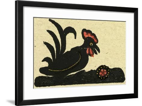 Illustration of English Tales Folk Tales and Ballads, a Bird--Framed Art Print