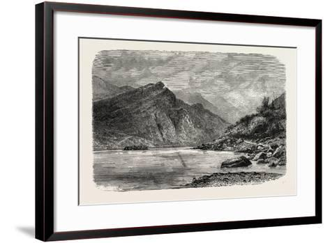 View of the Rapids of the Chu-Kiang, Canton, or Pearl River--Framed Art Print