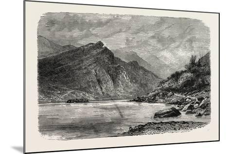 View of the Rapids of the Chu-Kiang, Canton, or Pearl River--Mounted Giclee Print