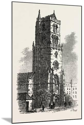 The British Association at Dundee: Old Steeple, Uk, 1867--Mounted Giclee Print