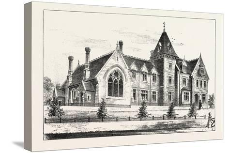 New Endowed Grammar School, Odiham, Hants, 1876, UK--Stretched Canvas Print