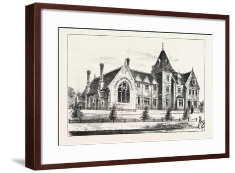 New Endowed Grammar School, Odiham, Hants, 1876, UK--Framed Art Print