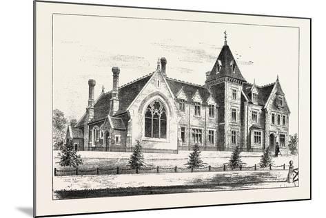 New Endowed Grammar School, Odiham, Hants, 1876, UK--Mounted Giclee Print