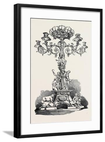 Testimonial Presented to Mr. Joshua Cooper, F.R.S--Framed Art Print
