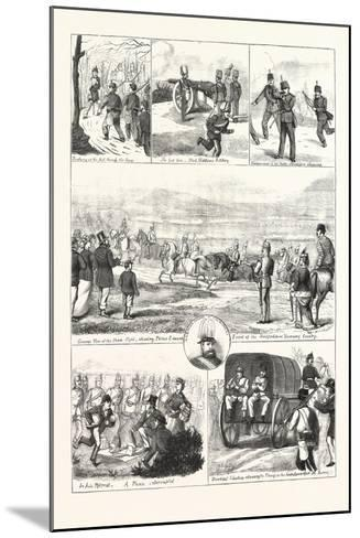Easter Monday with the Volunteers at Tring, 1876, UK--Mounted Giclee Print
