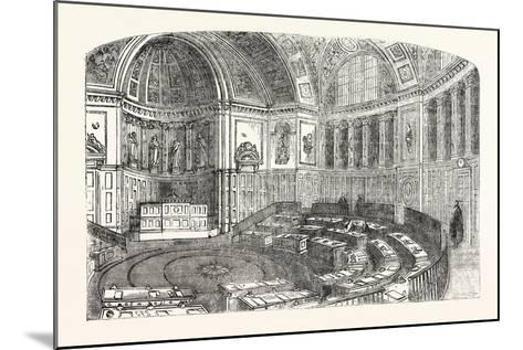 The Senate House of the Luxembourg Palace, Paris--Mounted Giclee Print