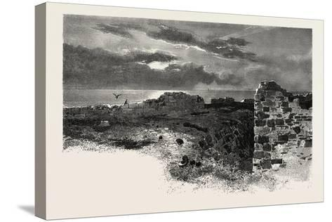 Fort Prince of Wales, Canada, Nineteenth Century--Stretched Canvas Print