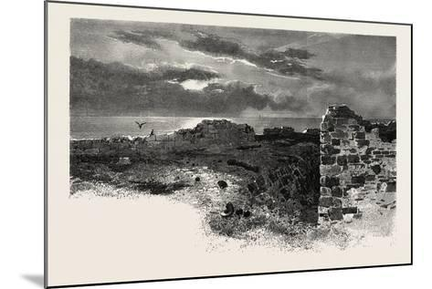 Fort Prince of Wales, Canada, Nineteenth Century--Mounted Giclee Print