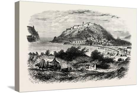 San Sebastian, Or, Donostia, Spain, 19th Century--Stretched Canvas Print